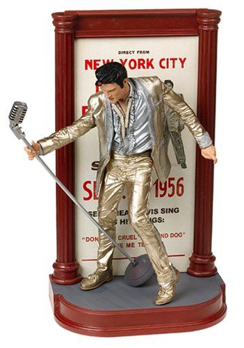 McFarlane Toys Rock n Roll Action Figure Elvis #4 Gold Outfit