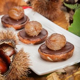 Mini castagnaccio special. Condivisa da: http://www.ipasticcidellacuoca.it