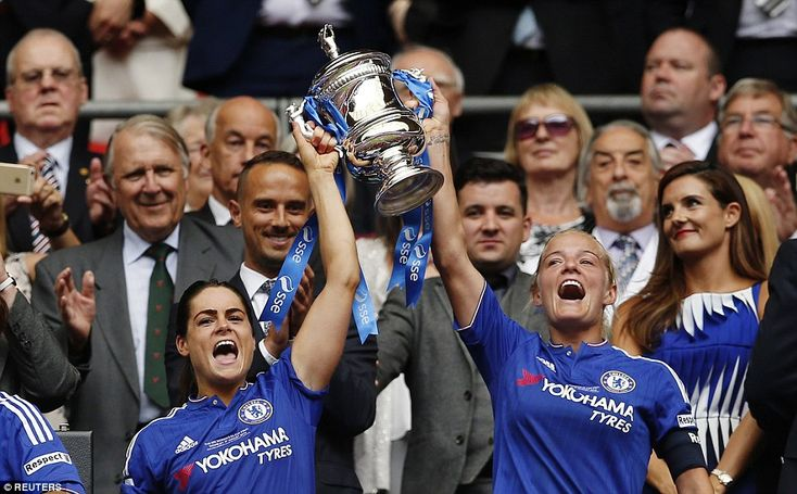 Chelsea 1-0 Notts County: Ji So-Yun nets winner at Wembleyas Blues claim their first Women's FA Cup in front of record crowd