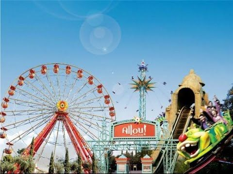 Allou Fun Park Greece Athens  Gopro 25/4/2015