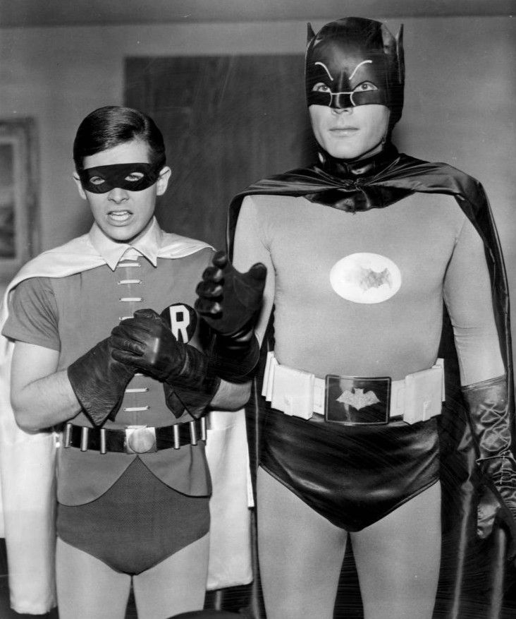 #Batman and Robin as #lifeguards? They are a team, which is necessary for rotations.