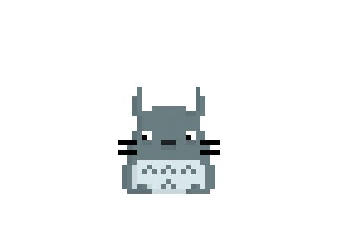 Totoro - Some of my own pixel creations