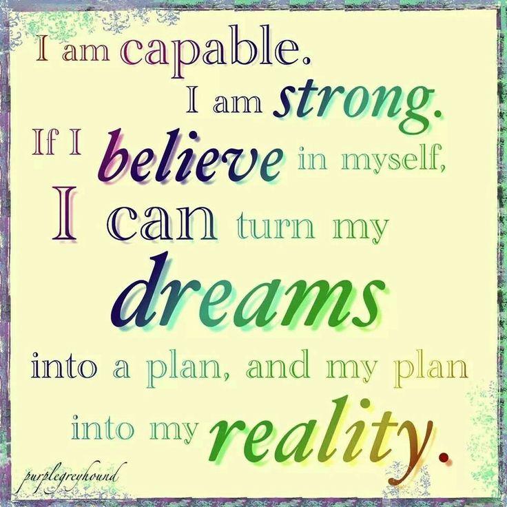 If I believe in myself... Keep Turning (door) Knobs