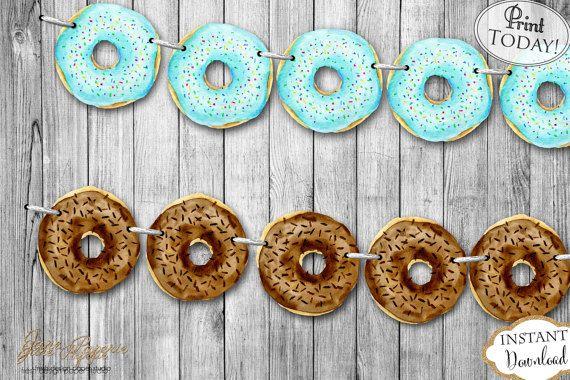 Best 25 Donut Birthday Cakes Ideas On Pinterest