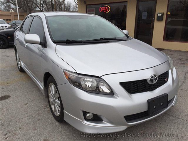 2009 Used Toyota Corolla 4dr Sedan Automatic S at Best Choice Motors Serving Tulsa, OK, IID 13409770