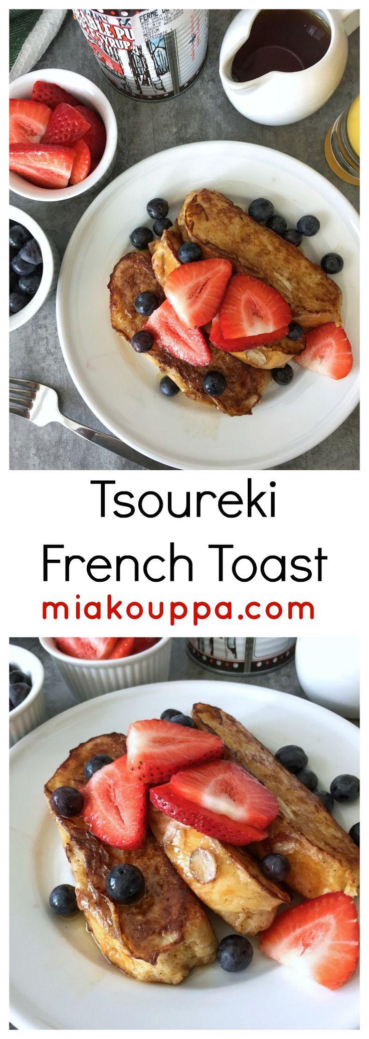 Tsoureki French Toast