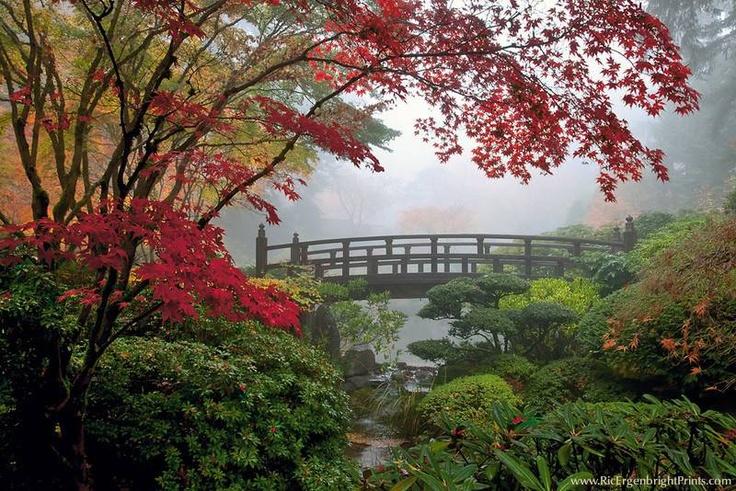 Japanese Garden Portland Oregan