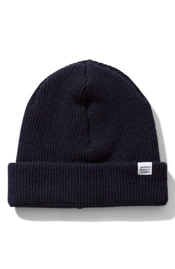 NORSE PROJECTS NORSE PROJECT WOOL KNIT CAP - BLUE.  norseprojects ... 68cb4241939