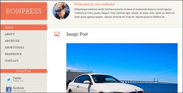 #responsive #wordpress #theme bonpress