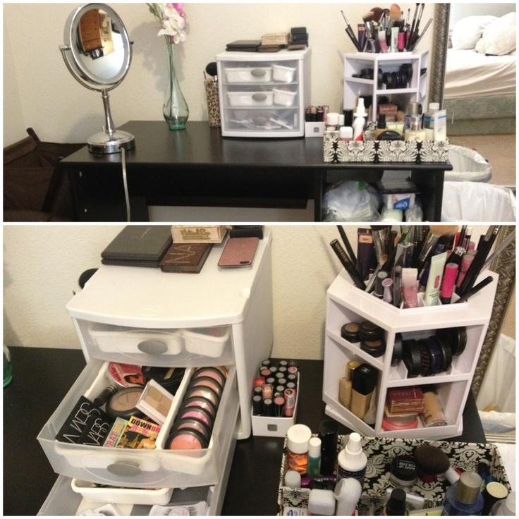 Elegant Makeup Organization For Vanity Nice Look