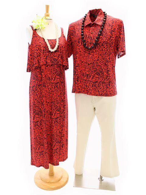 [Exclusive] 'IOLANI Flutter Long Dress [Batik Tangerine] - Long Dresses -.  Hawaiian OutfitsHawaiian DressesTahitiFormal ... - 94 Best Matching Hawaiian Outfits Images On Pinterest Hawaiian