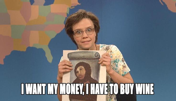 Kate McKinnon as Cecilia Gimenez on SNL