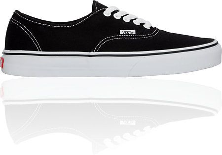 Vans Authentic Black Shoe at Zumiez : PDP