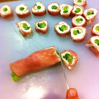HAM & CREAM CHEESE APPETIZERS We call them Christmas Pickles and almost everyone who has them Loves them :)