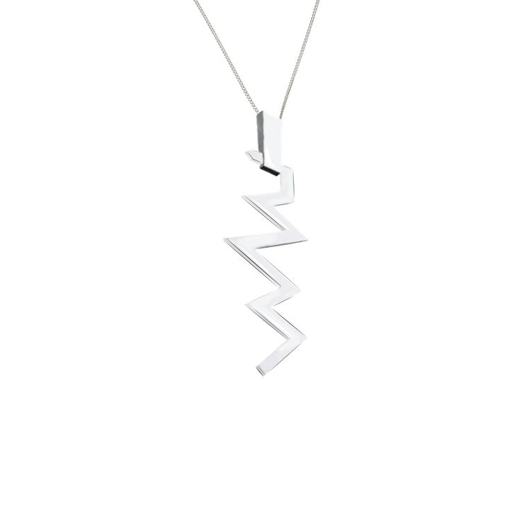 PUSHMATAAHA // WARRIOR MINI NECKLACE in 925 Sterling Silver