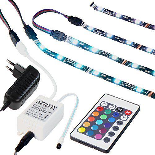 Rétro-éclairage à LED pour TV 24-42 pouces - 16 couleurs - 30 LED par mètre - avec télécommande Jago http://www.amazon.fr/dp/B00TQVB7EM/ref=cm_sw_r_pi_dp_rlSJwb0YKYCPC