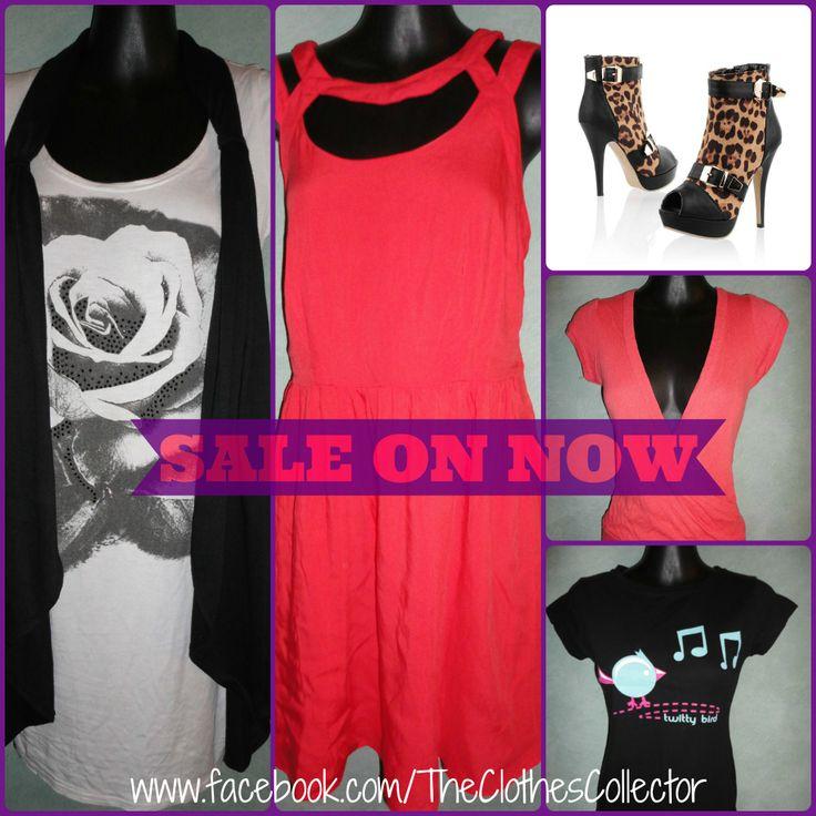 TCC Wardrobe Sale    SHOP NOW >> Via our Facebook page!