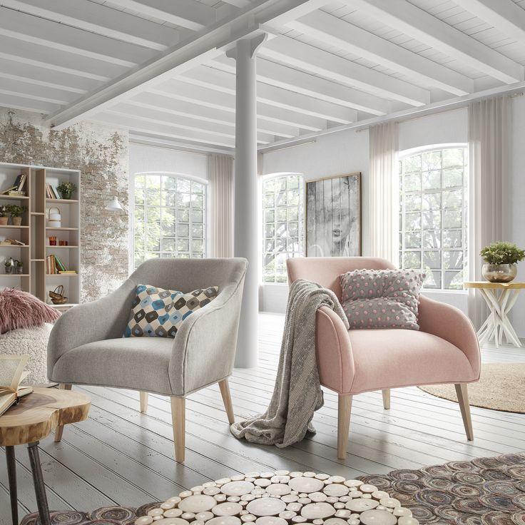 Fotel Lobby staje się bestsellerem, połączenie wygody, stylistyki i ciekawych materiałów to przepis na sukces.  #wood #pink #design #interior