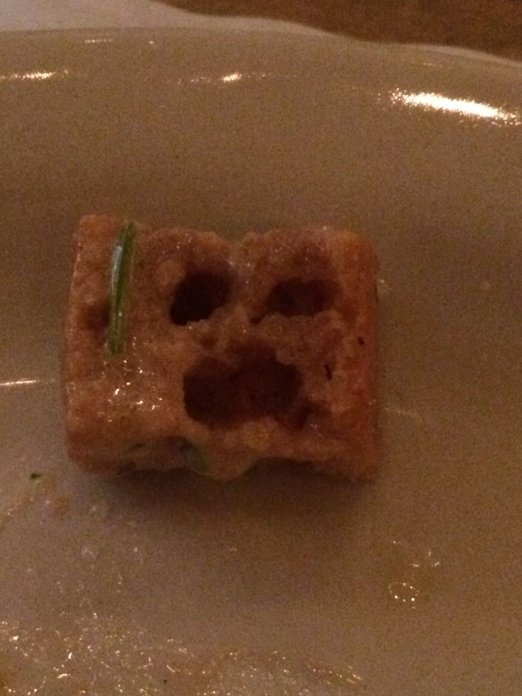 Scary crouton