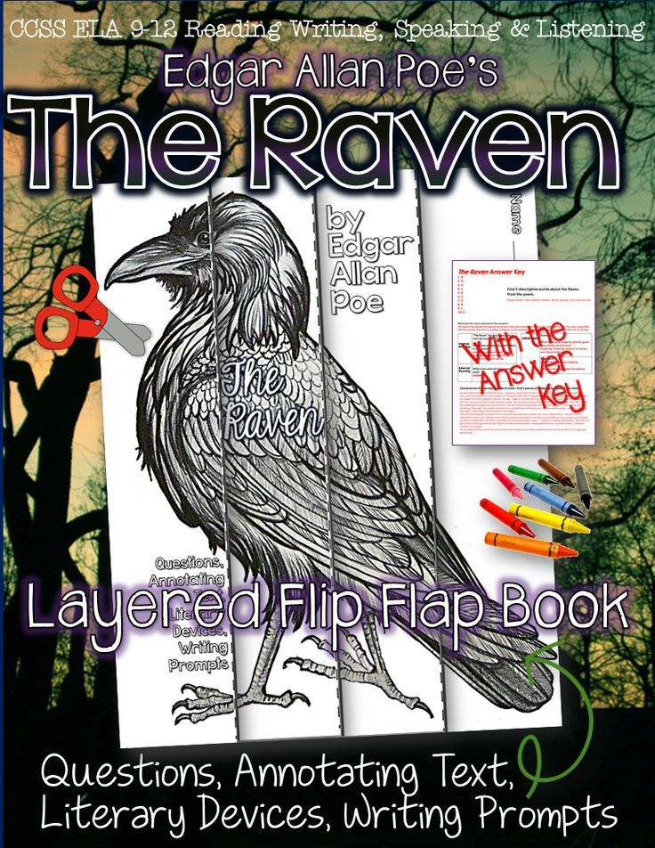 the poem of edgar allen poe the raven essay Because of the poems great success poe wrote a follow up essay called the philosophy of composition which described the working of the raven he stated that the poem was written as if it was a mathematical problem.