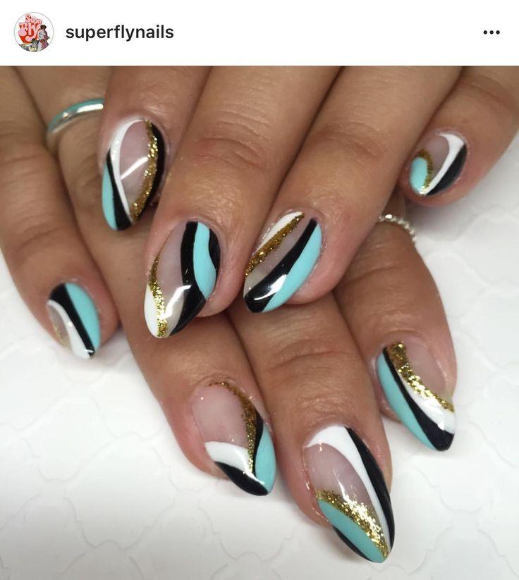 548 best Nail Art - Patterns/Designs images on Pinterest   Art ...