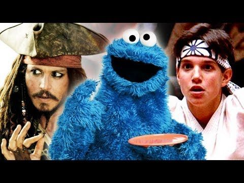features a Whoopie Pie mention! pin: Cookie Monster shares his love of movies and shows clips from his new parodies of The Karate Kid and Pirates of the Caribbean! #CookieMonste...