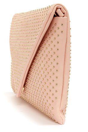 Studs Ute Teacher Peach Envelope Clutch Trends I Love Pinterest Bags And