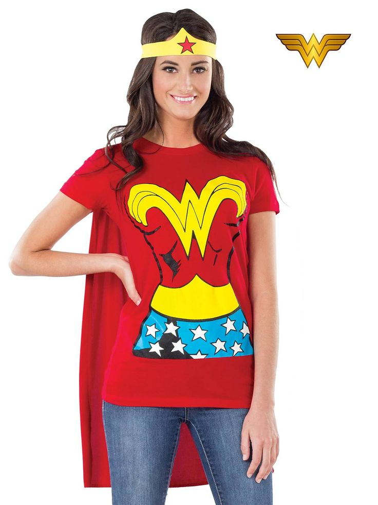 Tshirt adult woman kit wonder costume