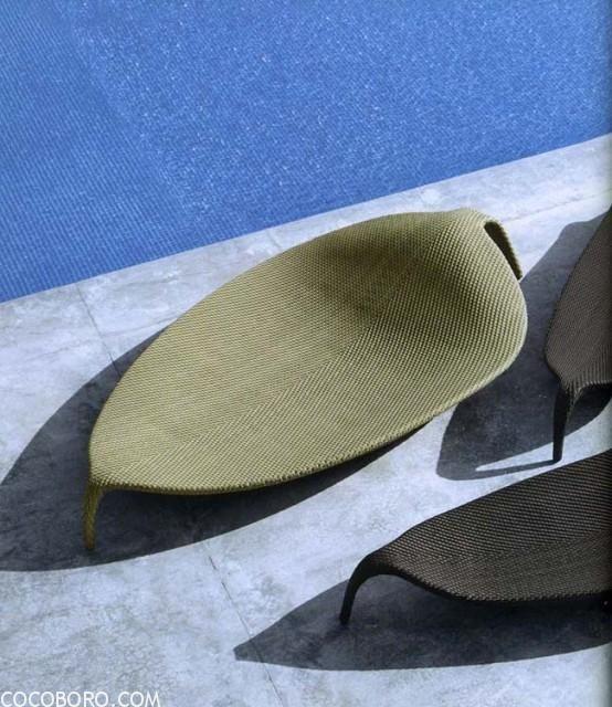 Dedon Leaf Rattan Chair