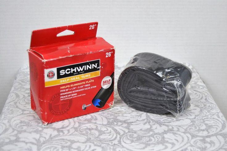 "Schwinn Self-Sealing Tube Fits Tire Sizes 26"" x 1.75""-2.125"" NIP #Schwinn"
