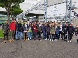 """L'Istituto d'Istruzione Superiore Tecnico Professionale di Spoleto al """"JOB&Orienta"""" di Verona"""
