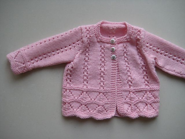 Baby Cardigan Sweater Knitting Patterns