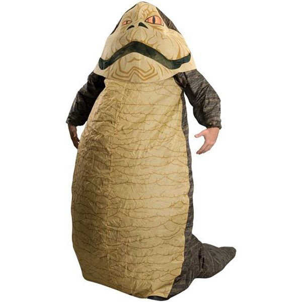 Le costume gonflable «Jabba The Hut»