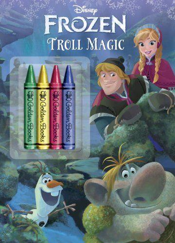 Frozen: Troll Magic [With 4 Chunky Crayons] (Disney: Frozen) by Courtney Carbone http://www.amazon.co.uk/dp/0736430628/ref=cm_sw_r_pi_dp_Gpqpub0TG6J6X