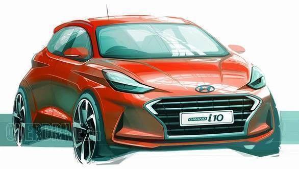 Image Gallery Hyundai Grand I10 Nios Design Sketches Design
