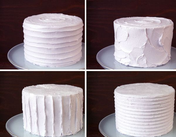 10 Cake Textures You Will Love and how to create them.