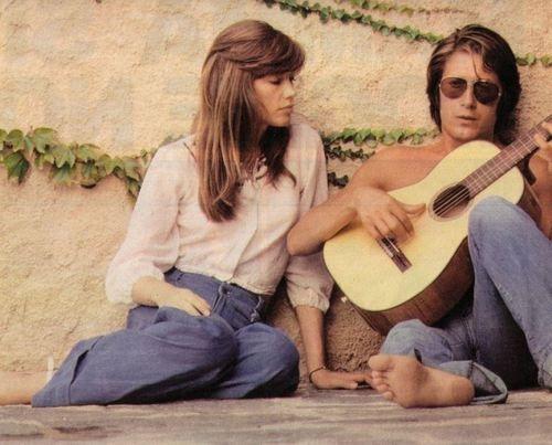 Francoise Hardy & Jacques Dutronc ... 70s <3