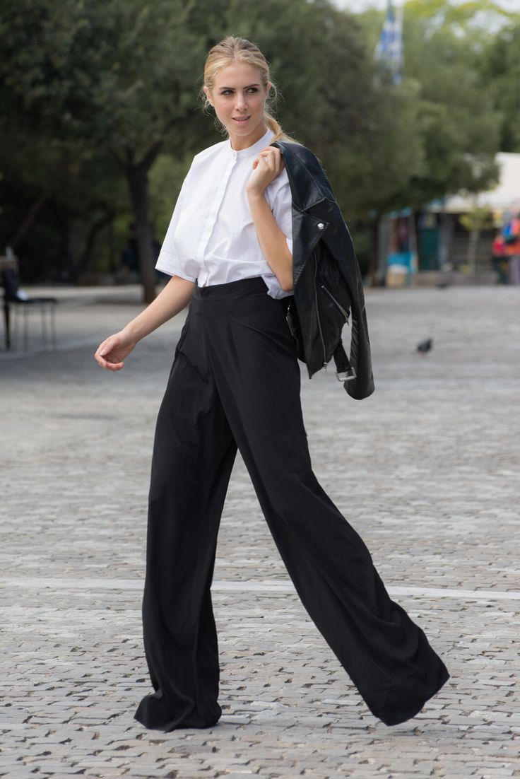 By nadia rapti , black pants