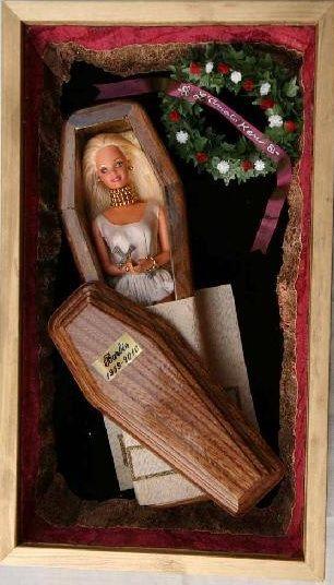 barbie casket