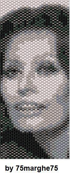 75marghe75 Bead By Bead: Schema fascia peyote Sofia Loren