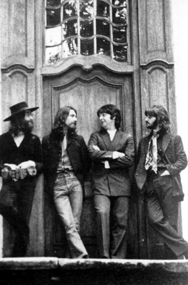 August 22, 1969: The Beatles' final photo shoot together at John Lennon's home, Tittenhurst Park.