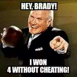 Bradshaw... 4 rings, no cheating!