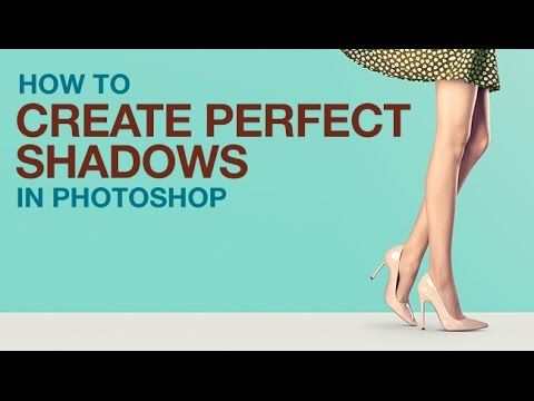 How to Create Perfect Shadows in Photoshop A shadow helps any subject look grounded in its background. This tutorial makes creating the perfect shadow easy and fun!