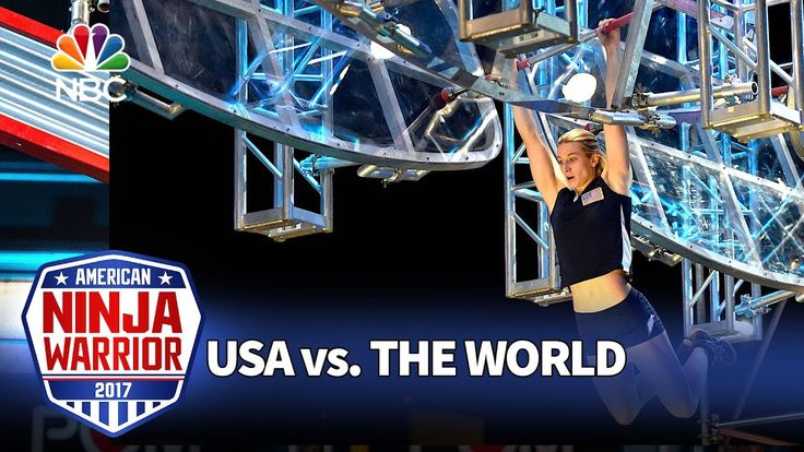 Jessie Graff's Record-Breaking Run - American Ninja Warrior: USA vs. The...