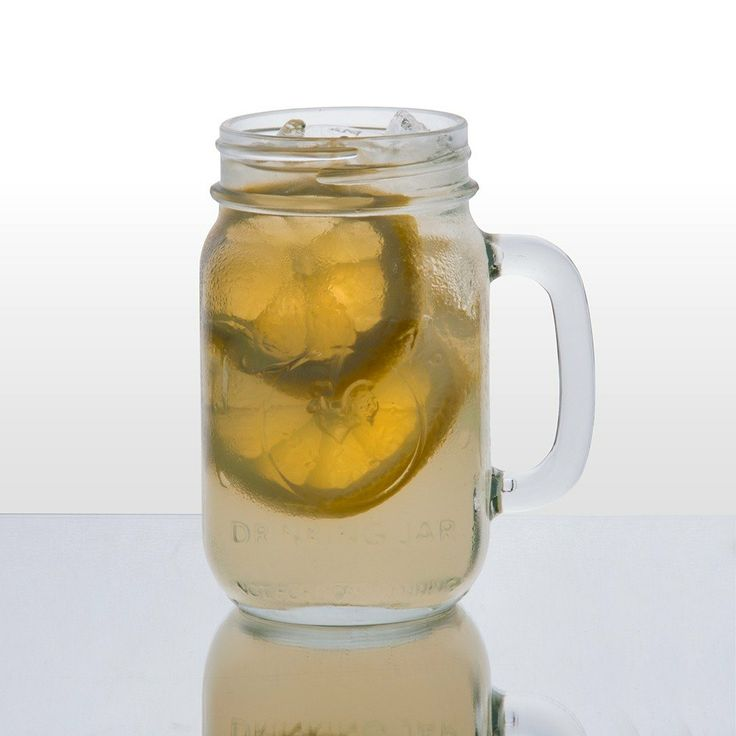 county fair mason jar drinking jar with handle 12case - Mason Jar Drinking Glasses