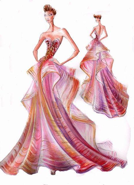 Blanka Matragi Fashion Illustrations