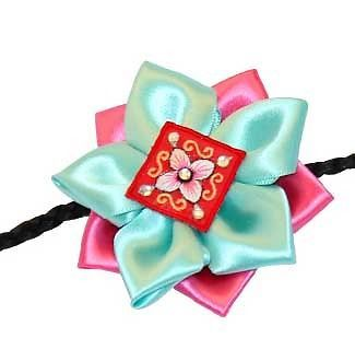 HANBOK Daenggi Hairband Korean Traditional Pigtail Dress Girl Korea Daeng Gi | eBay $12.62