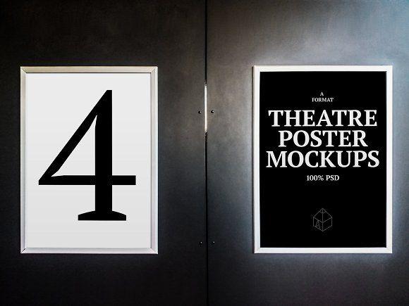 Theatre Poster Mock Ups Design Mockup Free Mockup Template Free Free Psd Design