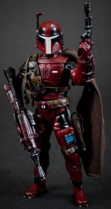 Deadpool Boba Fett Custom Marvel Legends Star Wars Black Series Crossover by Fanboys Toys