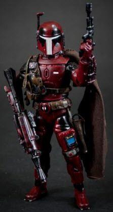 Deadpool Boba Fett Custom Marvel Legends Star Wars Black Series Crossover by Fanboys Toys